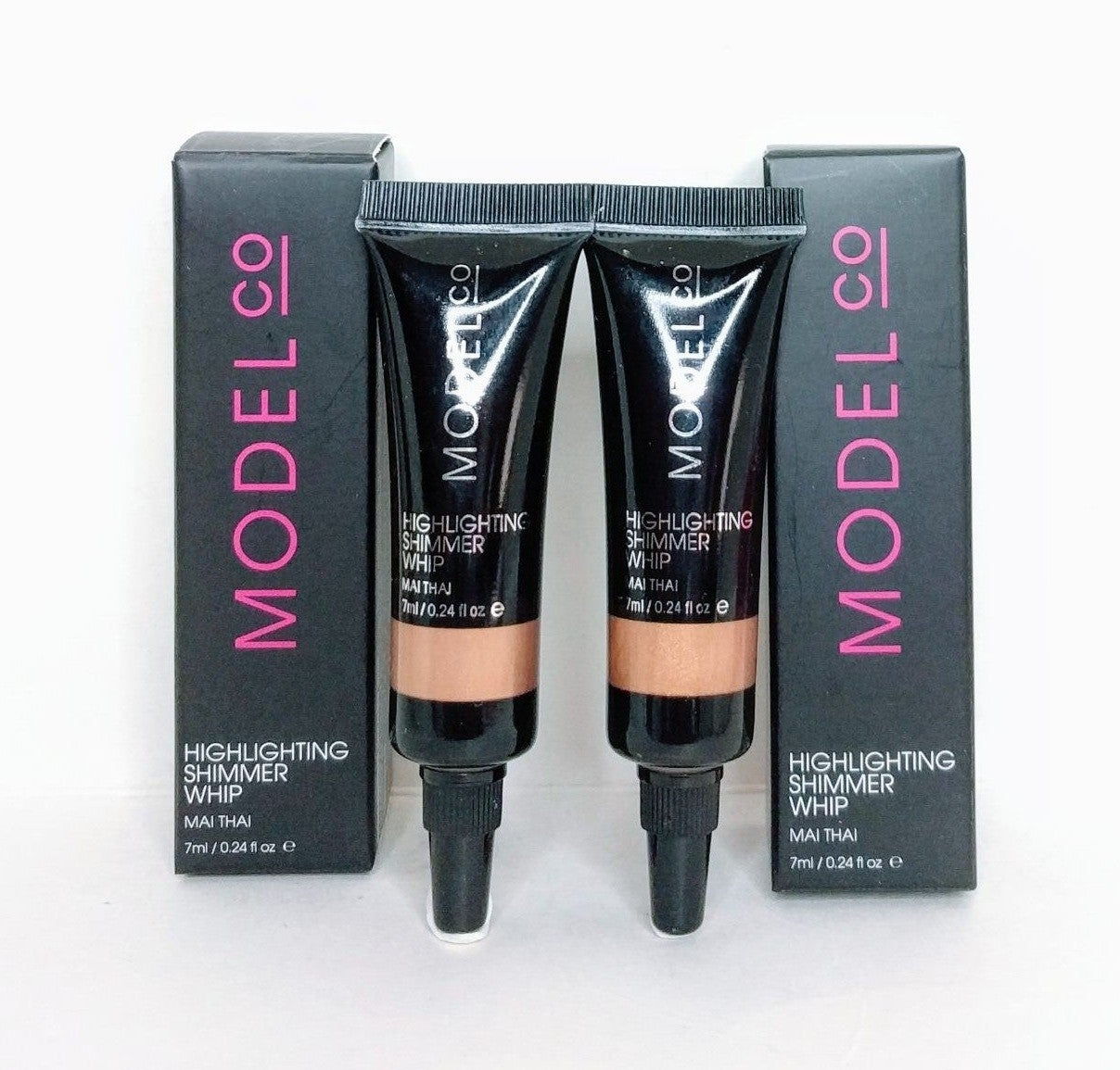 Model CO Highlighting Shimmer Whip Duo