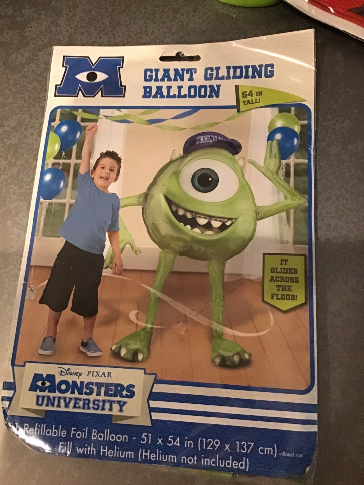Disney Monster University Mike balloon