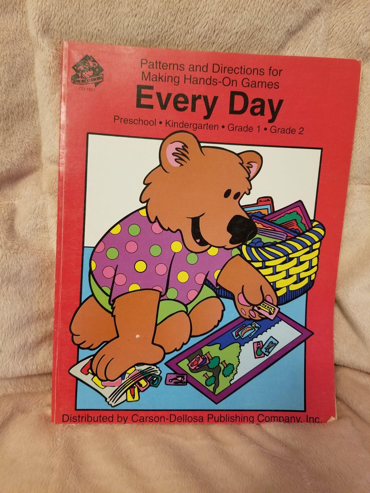 Every Day File Folder Games Pre-Grade 2