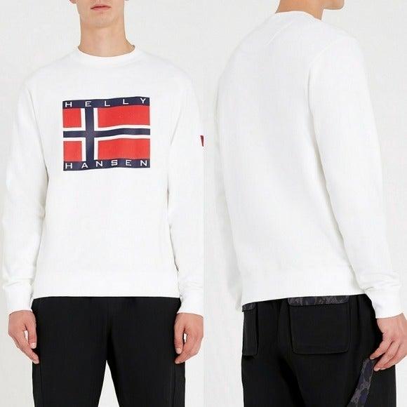 Sandro Helly Hansen-embroidered Sweatshi