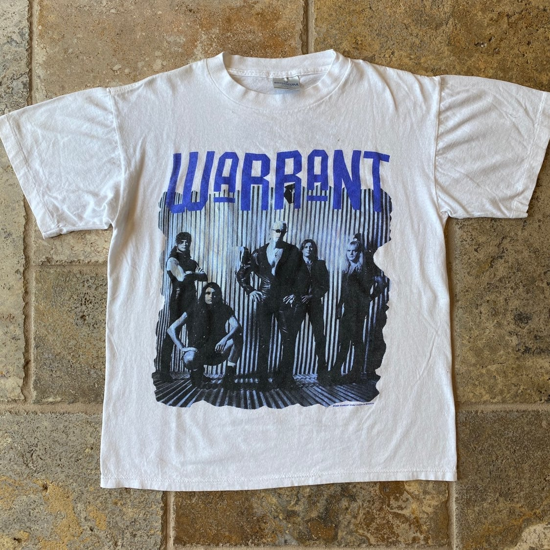 1992 Brockum Warrant Concert Band Tee