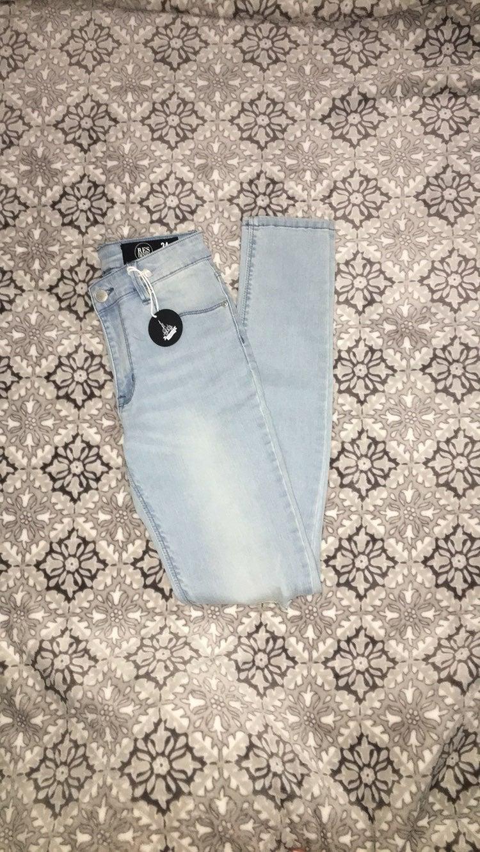 Light wash Res Denim skinny jeans
