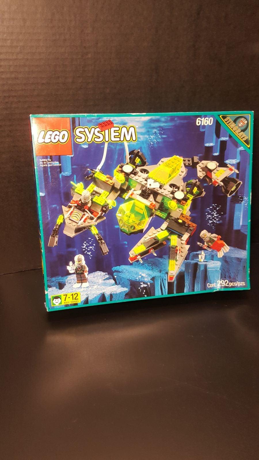 Lego 6160 Stingray sea scorpion