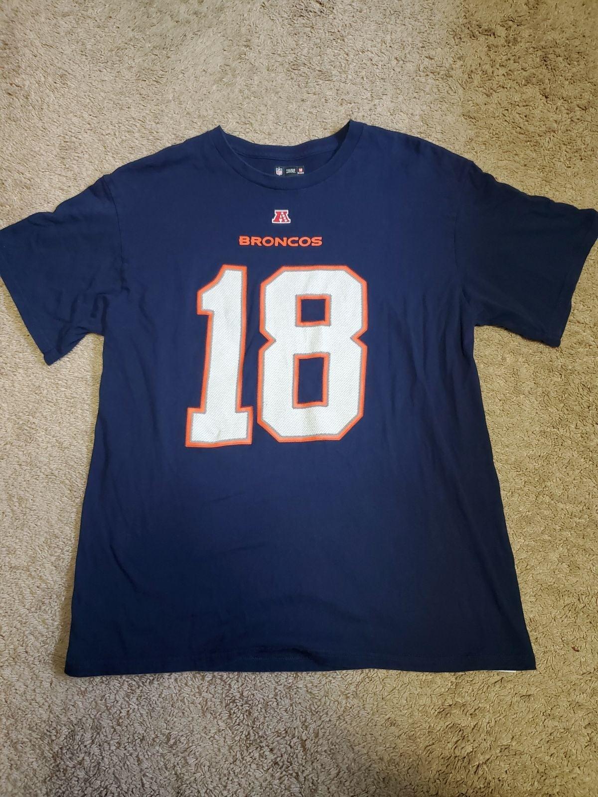 NFL Peyton Manning Denver Broncos Shirt