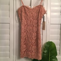 b8f4cd6f753 Forever 21 Blush eyelash lace dress. FOREVER 21. S