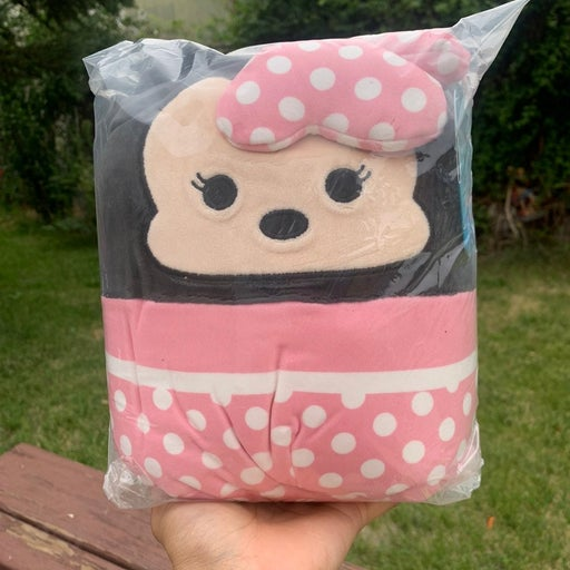 """Squishmallow Minnie Mouse 8"""""""