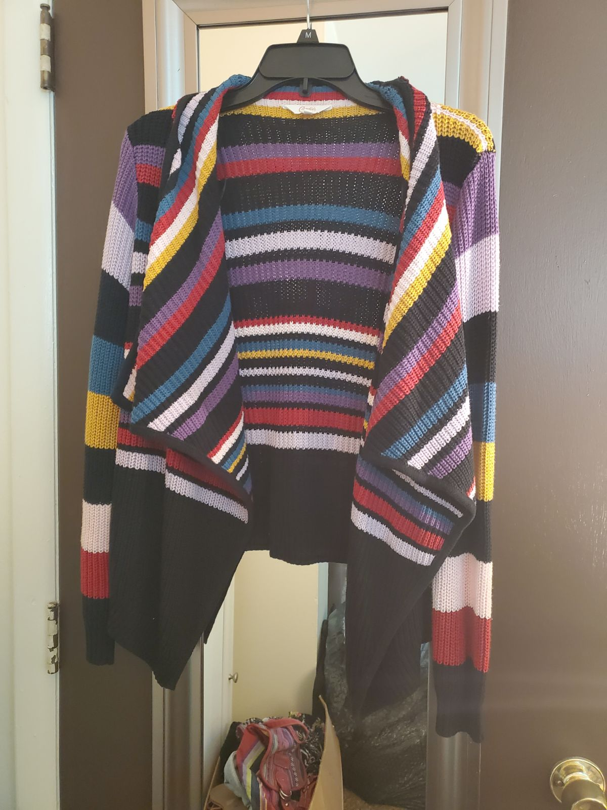 Multicolored cardigan
