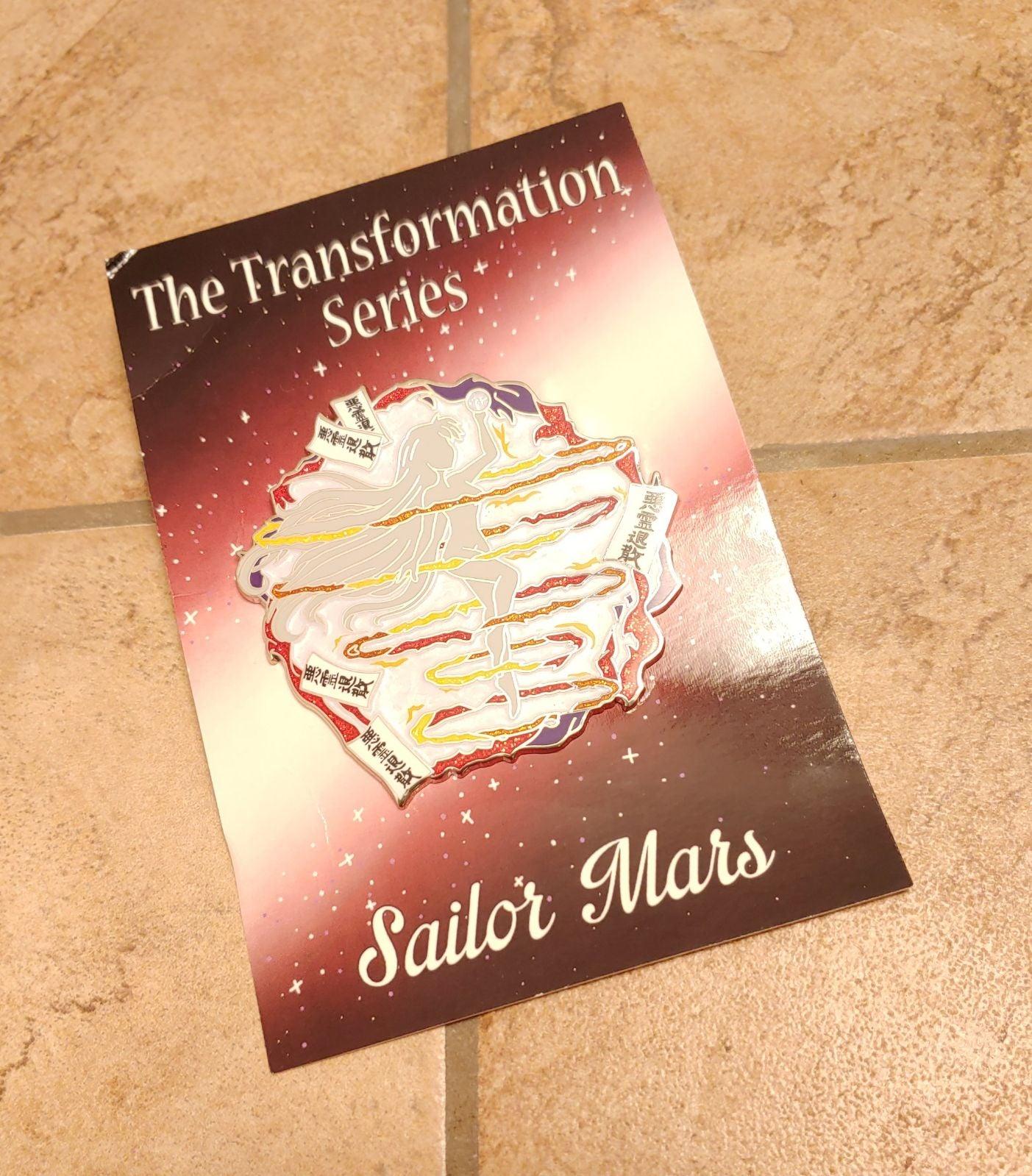 Sailor Mars Transformation Pin