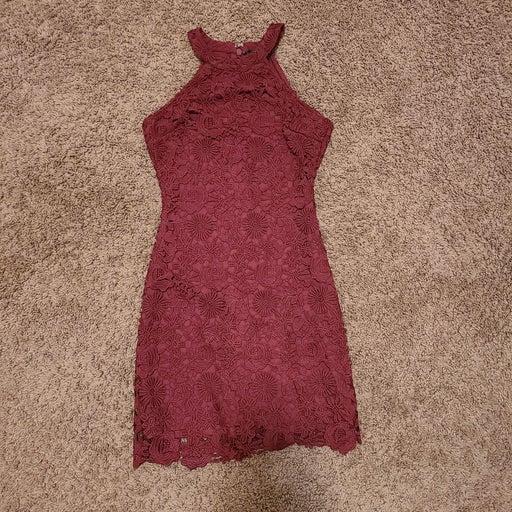 NWOT Lace Lulu's Zip Up Dress