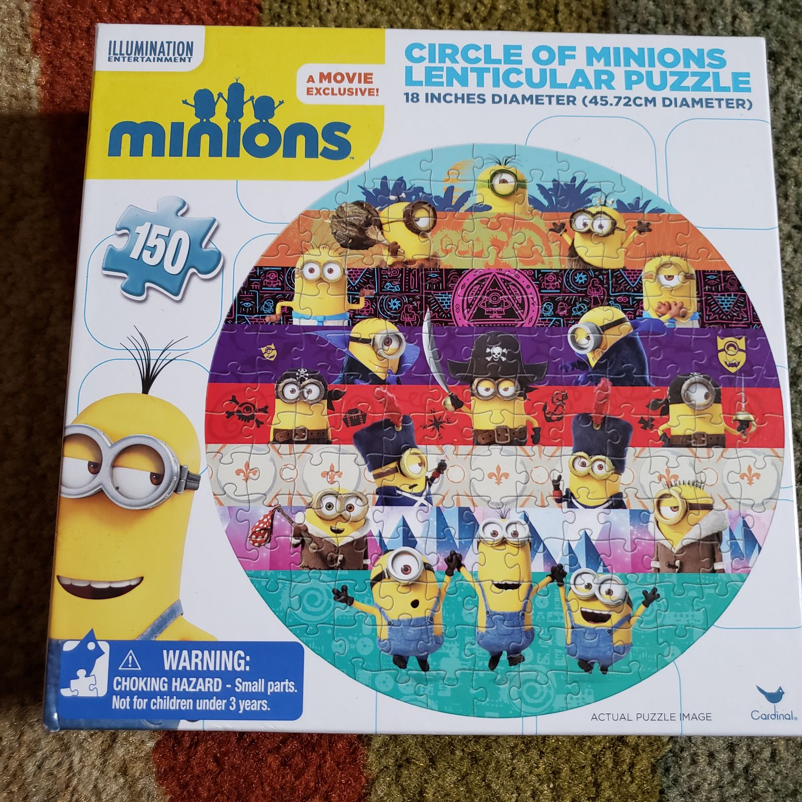 Minions Puzzle Toys and Game Puzzles