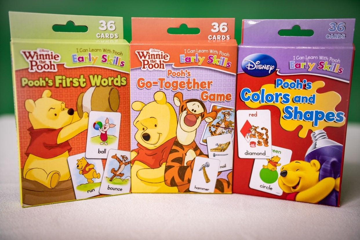 Disney  Winnie the pooh flash cards