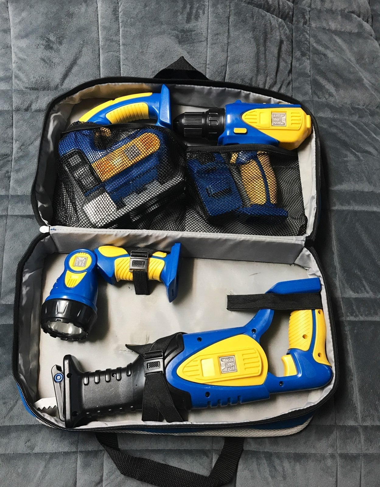 Just like home toy tool kit