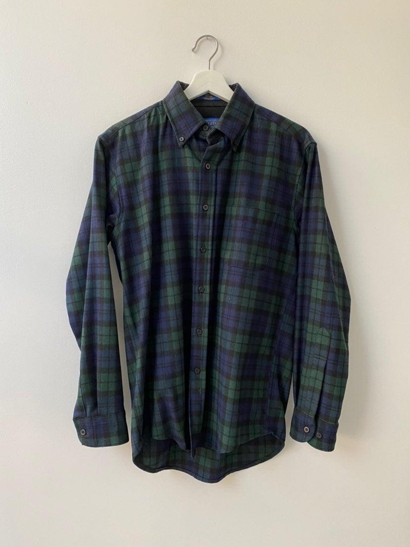 Pendleton Wool Plaid Shirt Mens S