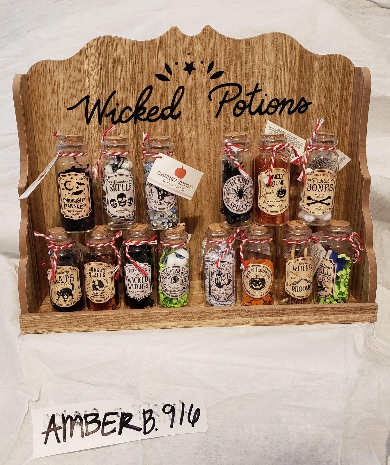Target potion bottles