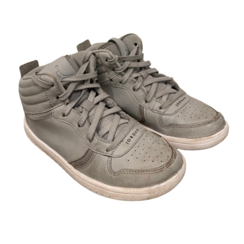 Nike Jordan heritage grey shoes