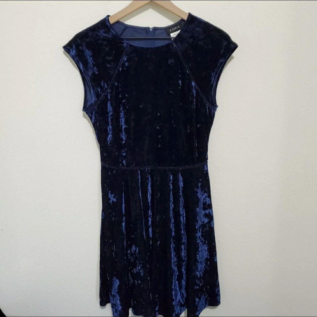 B. Darlin   Crushed Velvet Dress