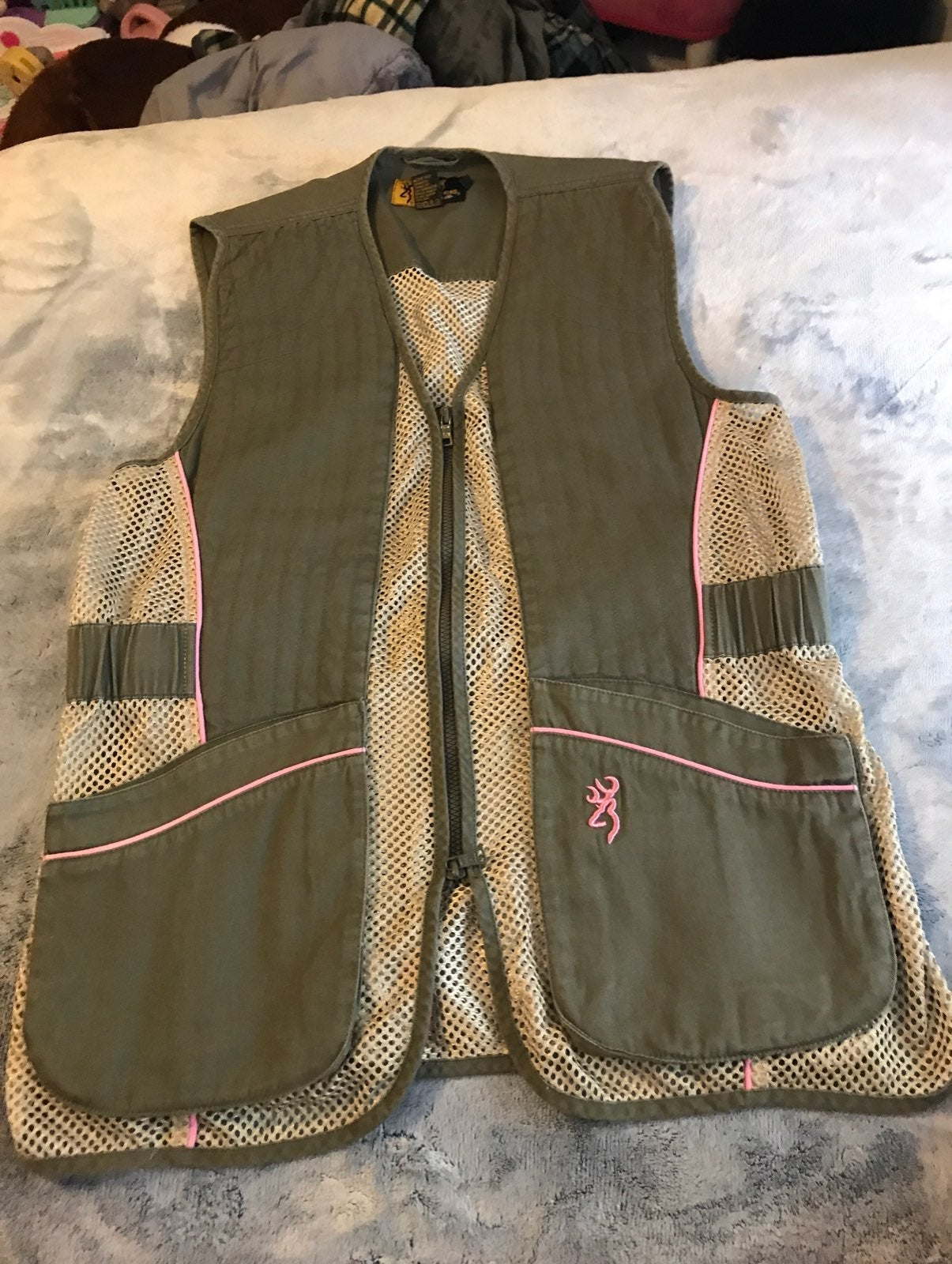 Browning for Her shooting vest