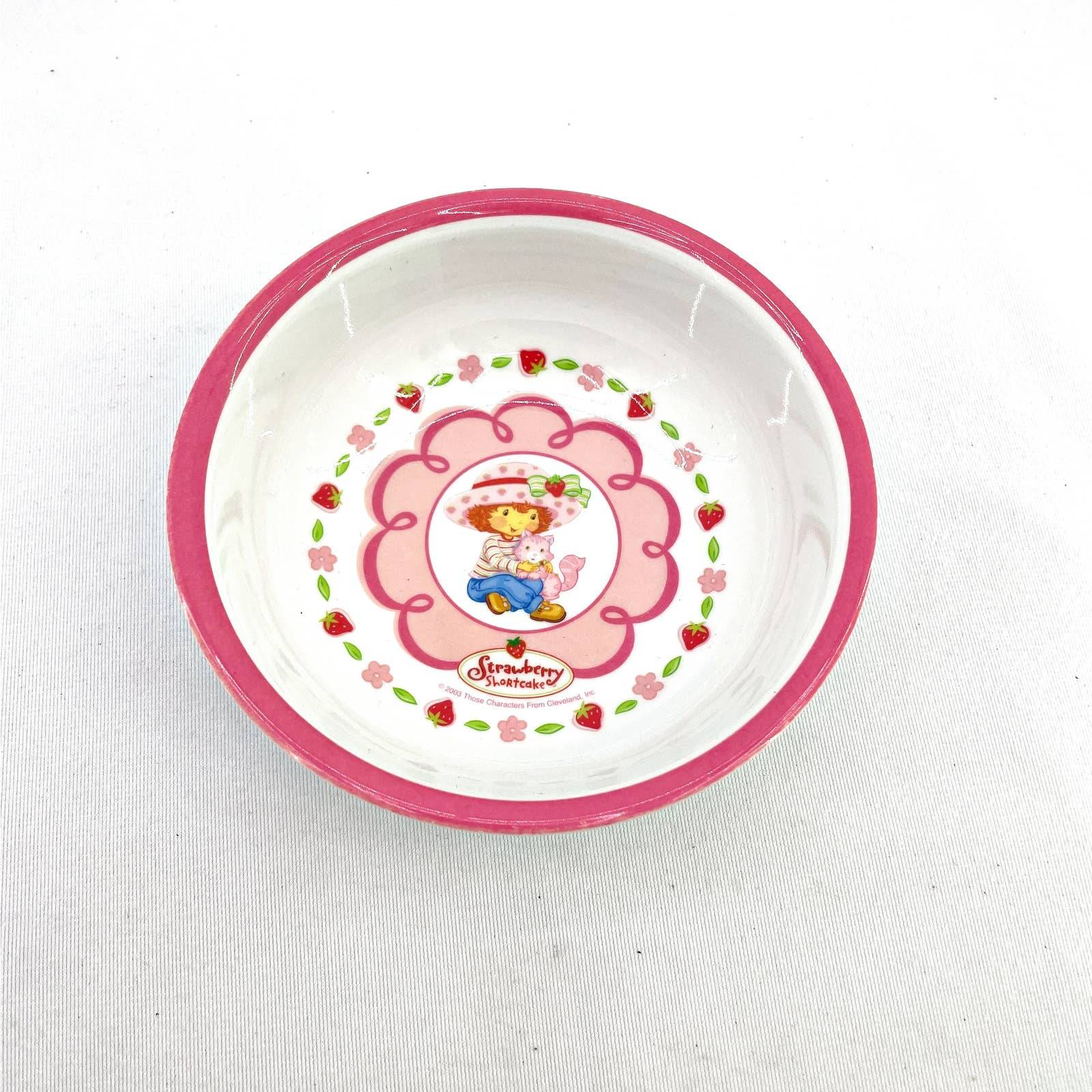 Strawberry Shortcake Zak Cereal Bowl