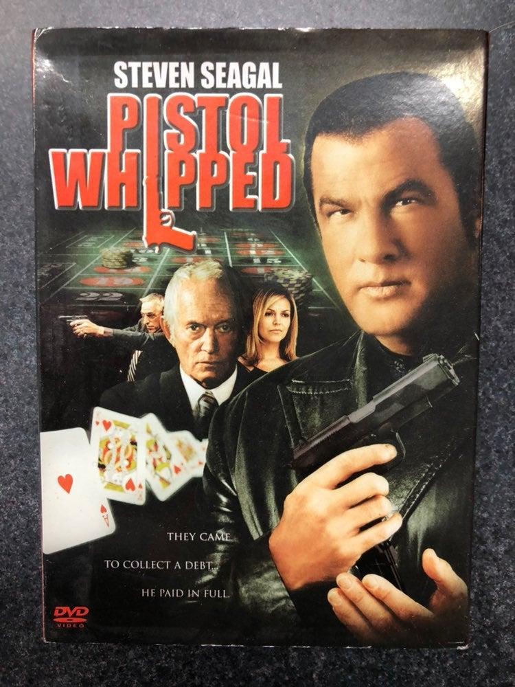Steven Seagal Pistol Whipped DVD