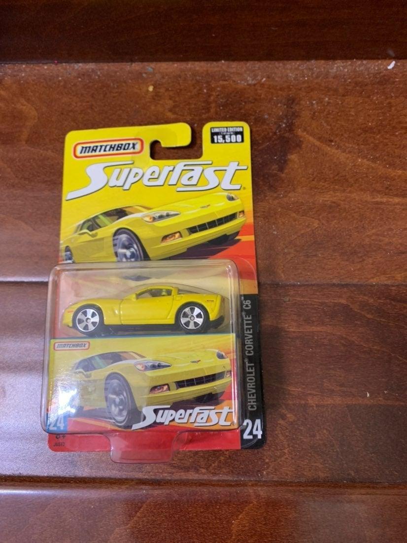 Matchbox Superfast 24 corvette C6