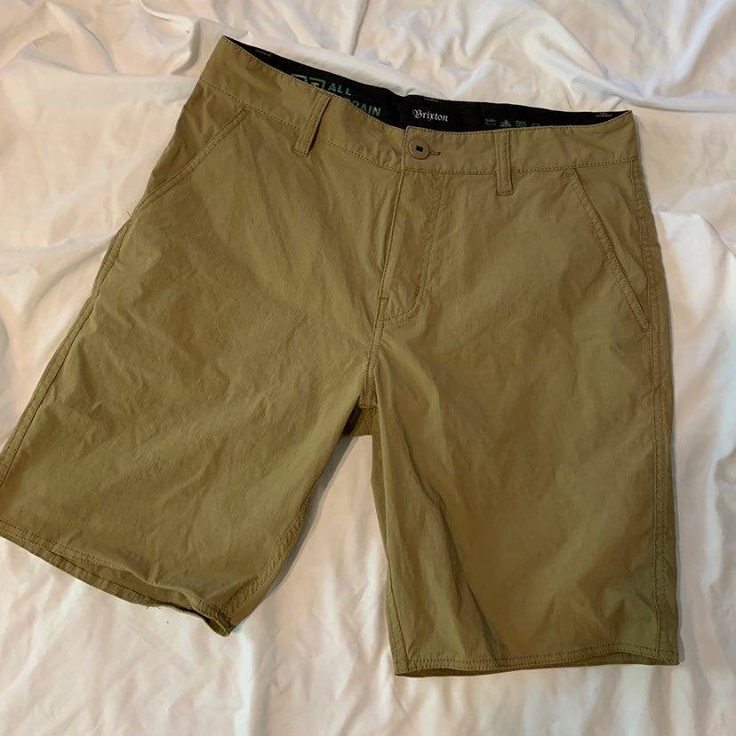 Men's Brixton beige kahki shorts