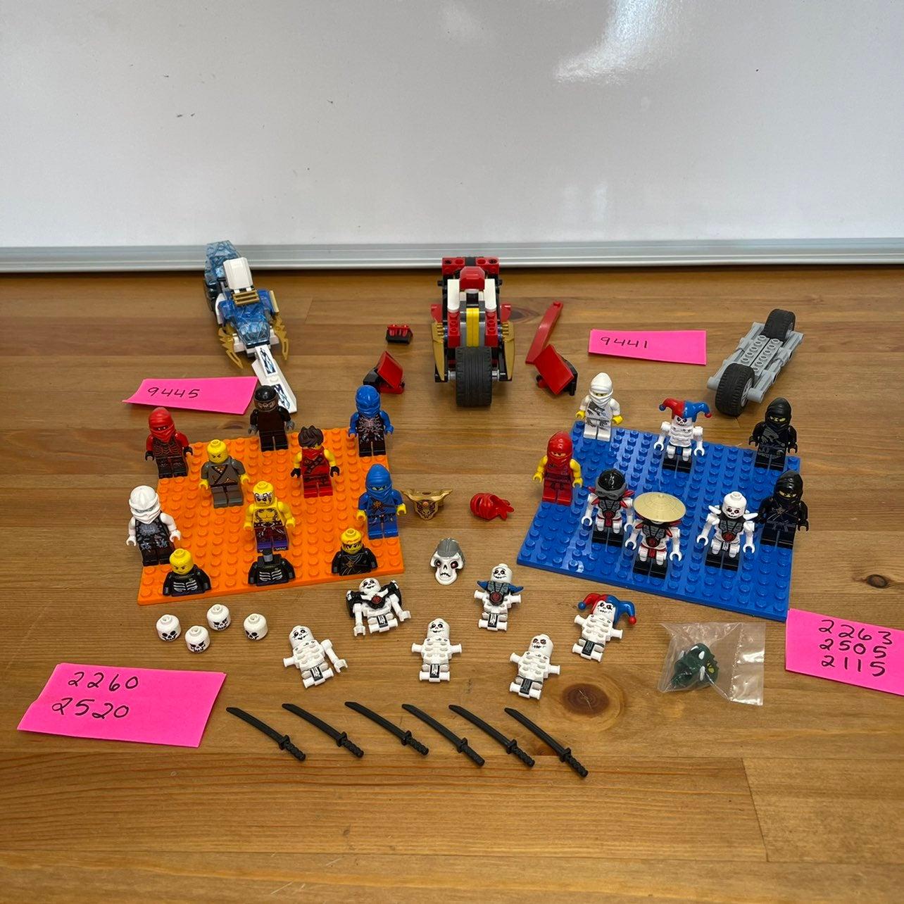 LEGO NINJAGO LOT - SEE DESCRIPTION