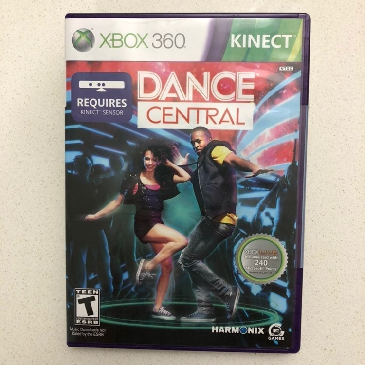 Dance Central Fitness DVD for xbox 360