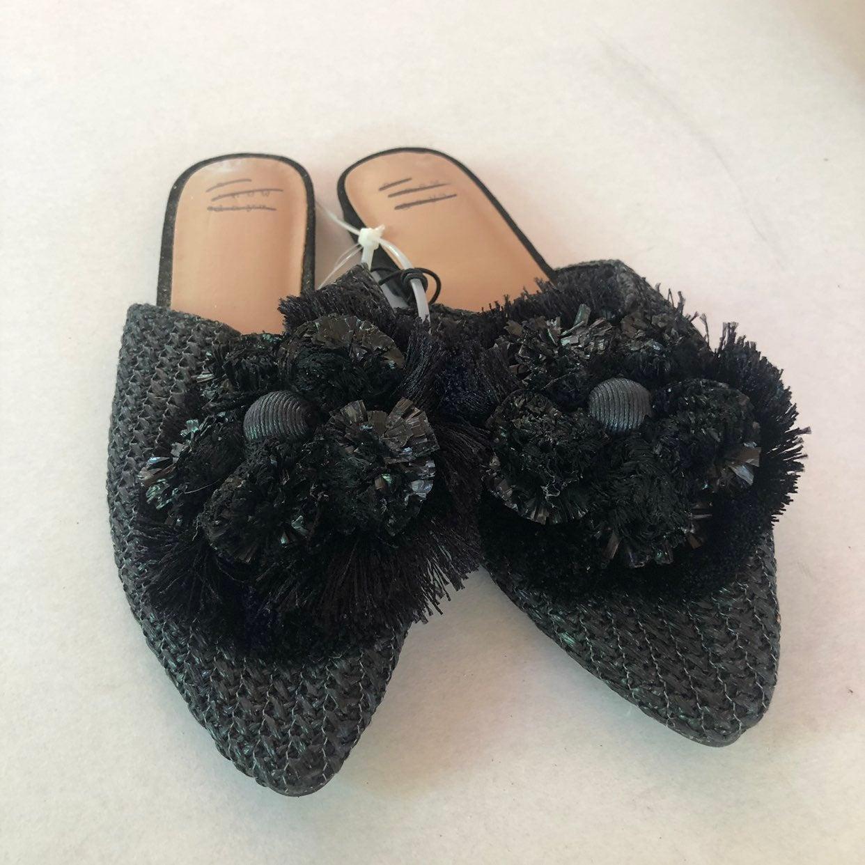 New womens shoes clogs mules 7 black flo