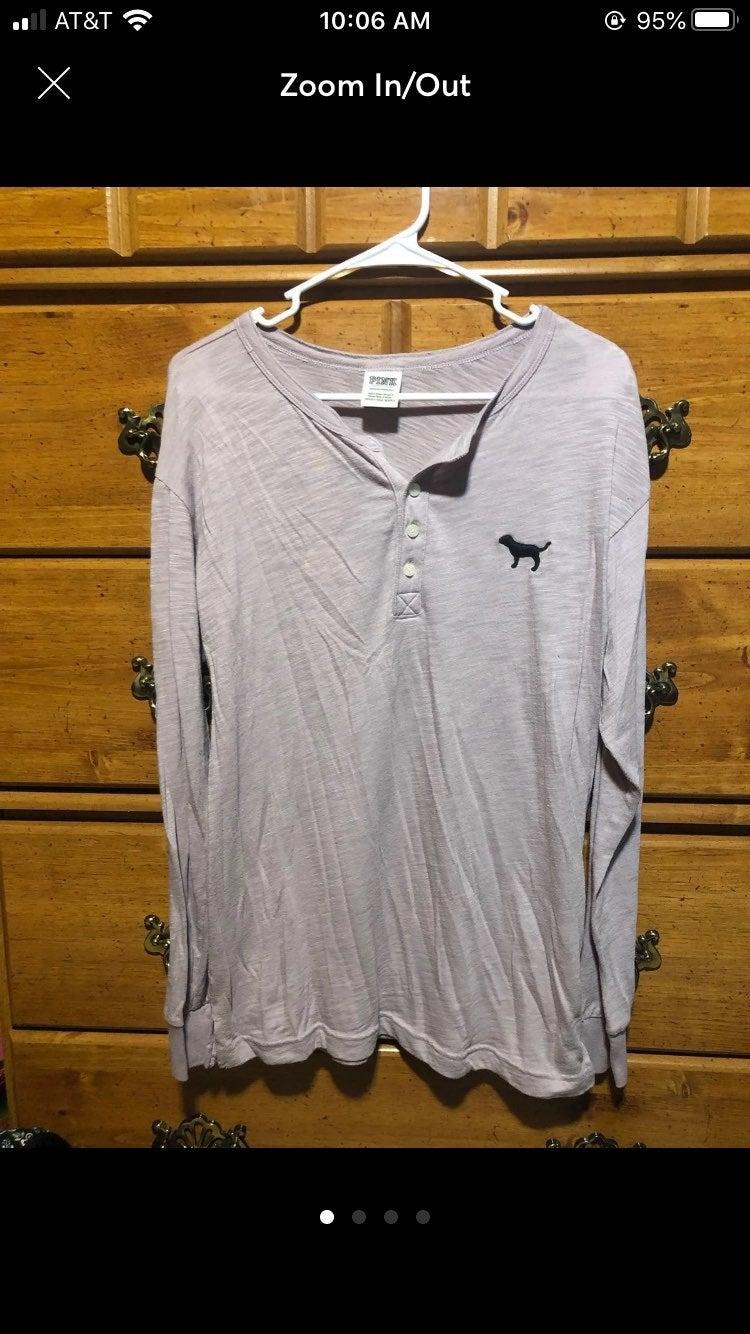 XS purple PINK long sleeve shirt