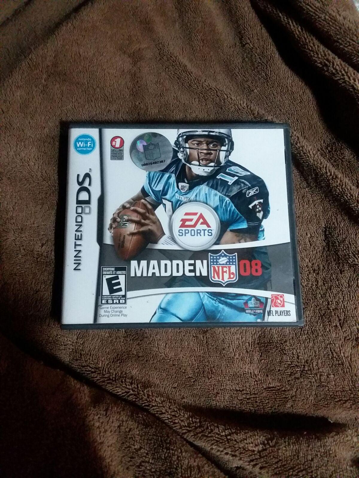 Madden 08 Nintendo DS
