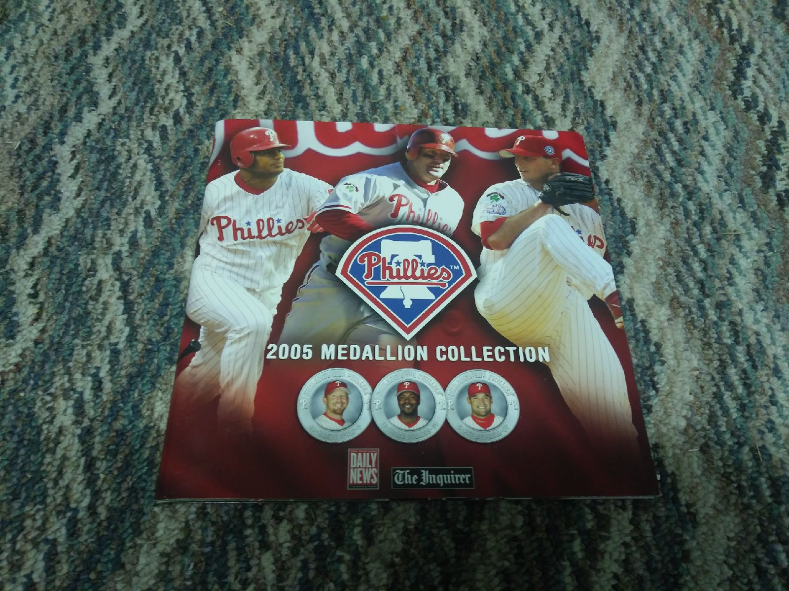 2005 phillies medallion collection