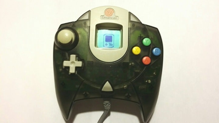 Clear Smoke Dreamcast Controller and VMU