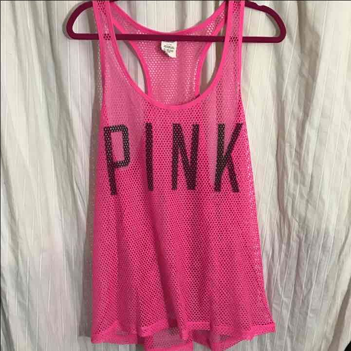 PINK Netted Tank