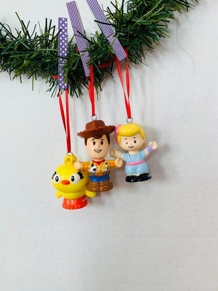 Disney Toy story pvc ornaments
