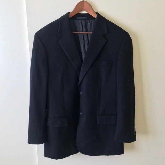 Vintage Club Room Men's Wool Silk Blazer