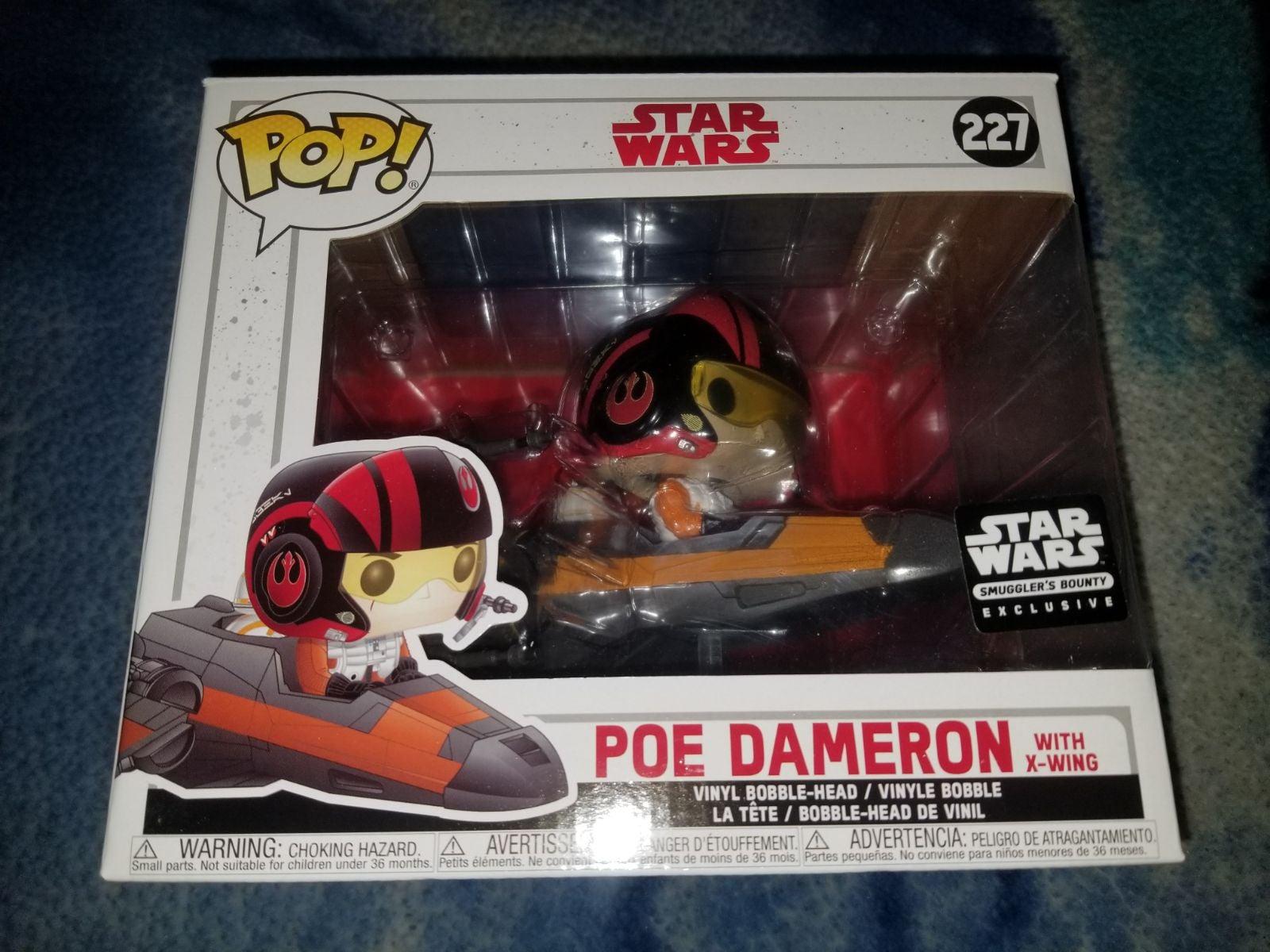 Poe Dameron w/ X-Wing Funko Pop