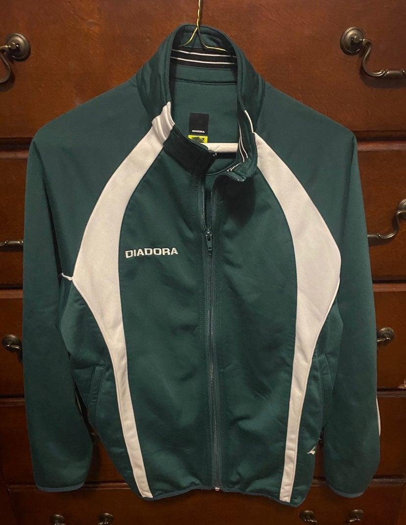 Diadora Green Jacket Youth Large