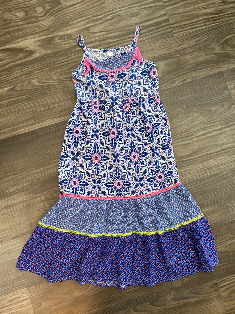 Girl's Blue Maxi Dress