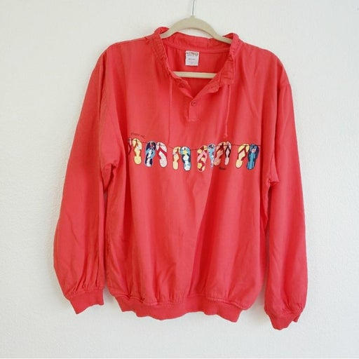 Vtg Crazy Shirts Hawaii Original Sweater