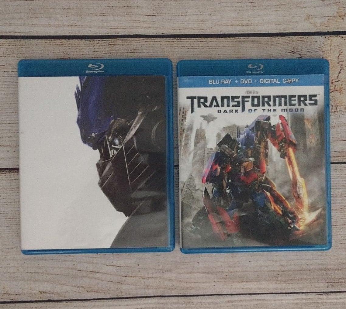 Transformers: Blu Rays 2 Movies Bundle