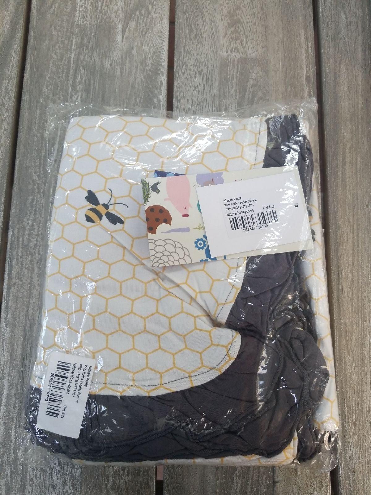 Kickee Pants natural honeycomb toddler