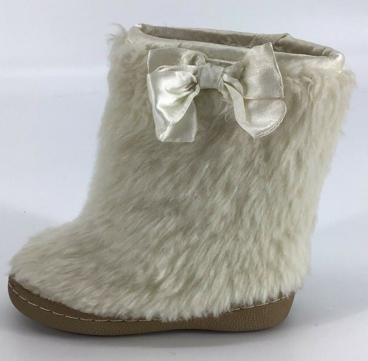 baby Gap Girl's Sz 7 Faux Fur Boots