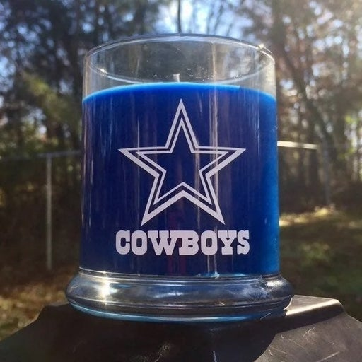Dallas Cowboys Candle Personalized