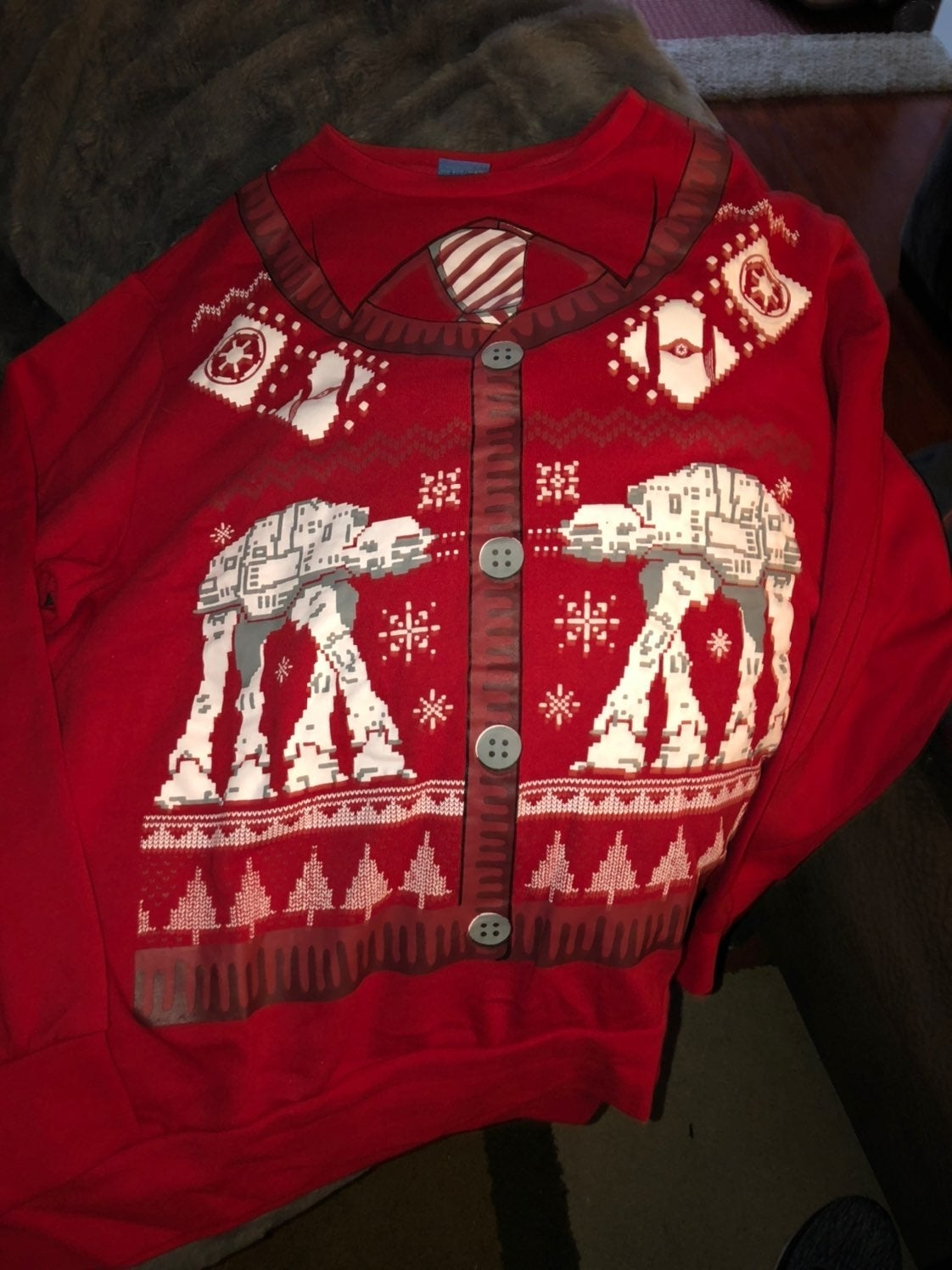 Mens star wars holiday sweatshirt
