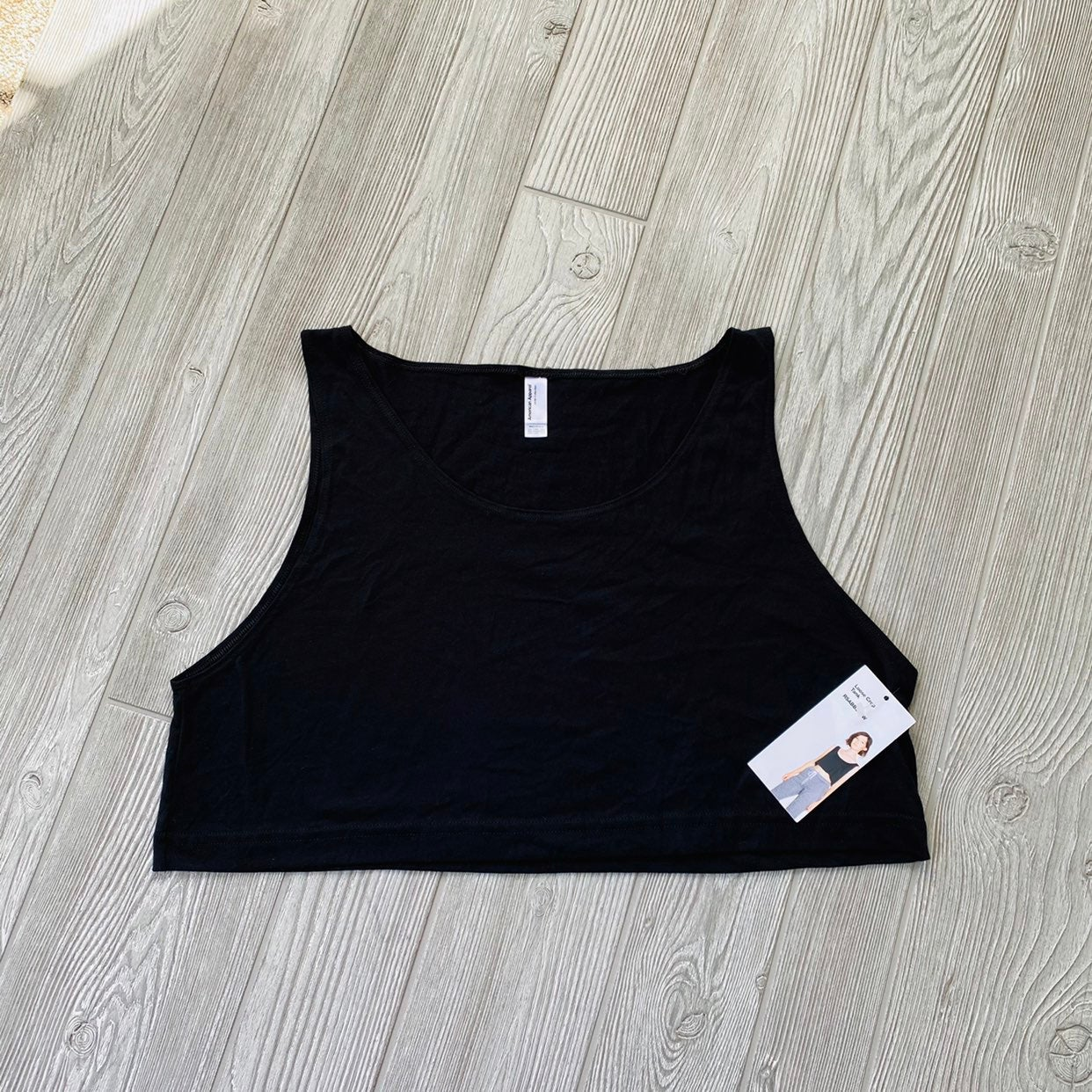 Tank Top cropped american apparel