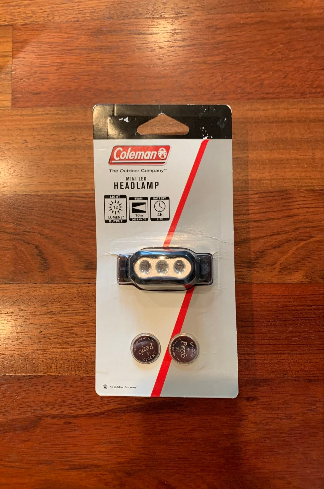 NWT Coleman LED headlamp