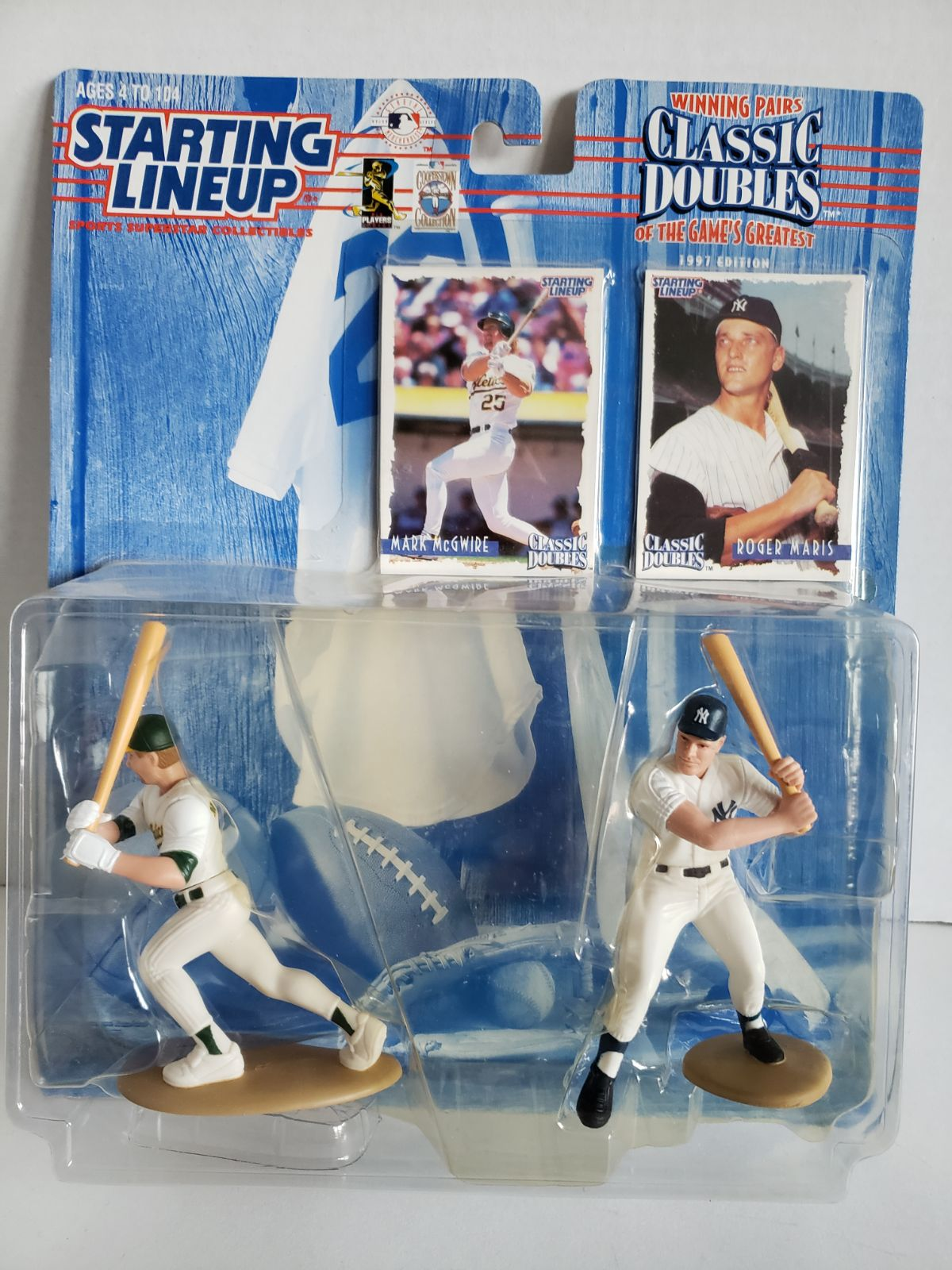 Starting Lineup Mark McGwire & Roger Mar