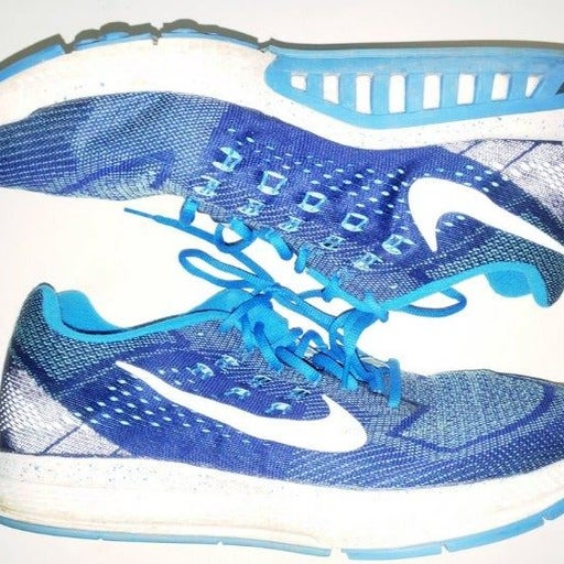 Nike ID Zoom Structure Blue/White Men 14