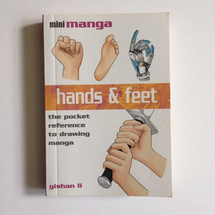 Hands and Feet Mini Manga Book