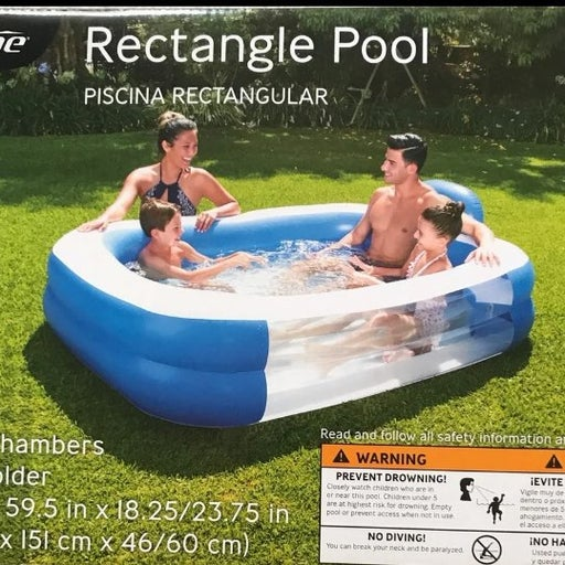 Crane rectangle pool inflatable BNIB